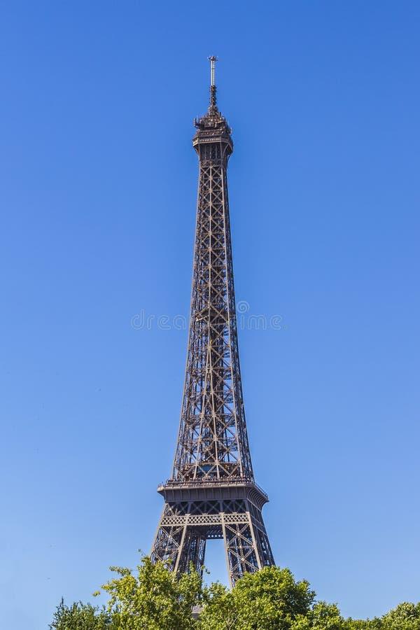 Torre Eiffel (excursão Eiffel do La) em Paris, France. fotografia de stock royalty free