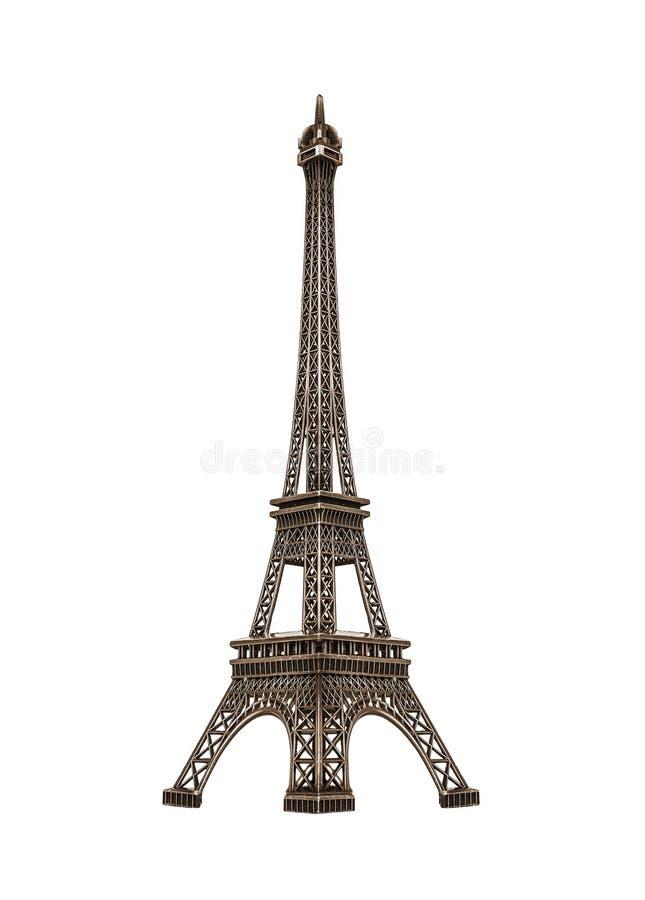 Torre Eiffel isolata fotografia stock