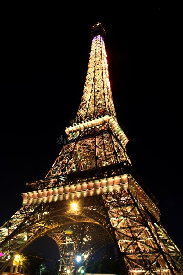 Torre Eiffel miniatura fotografía de archivo