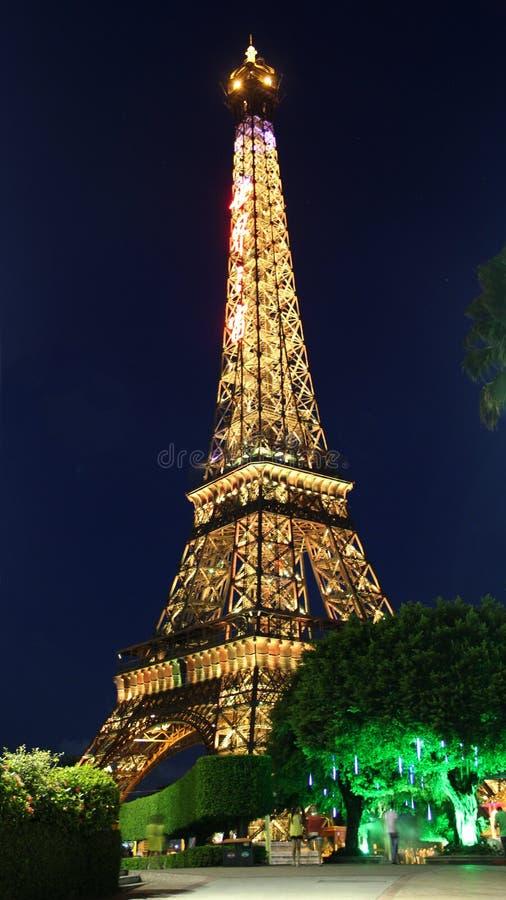 Torre Eiffel miniatura de China Shenzhen foto de archivo