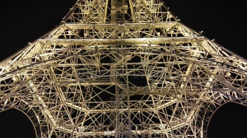 Torre Eiffel na cidade de Nantong Haimen (Jiangsu, China) foto de stock