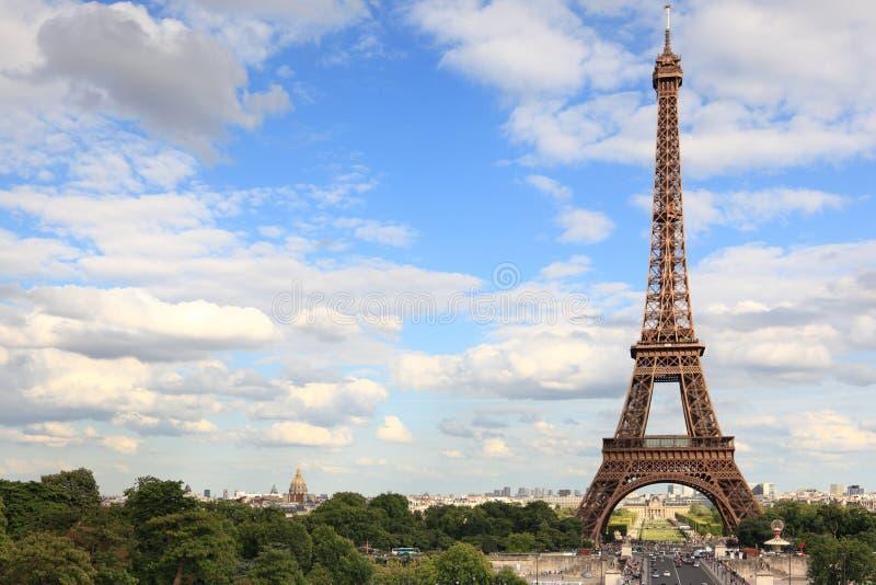 Torre Eiffel - Parigi fotografia stock libera da diritti