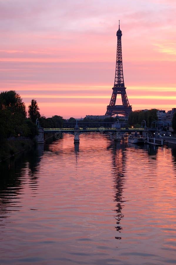 Torre Eiffel, Parigi immagini stock libere da diritti