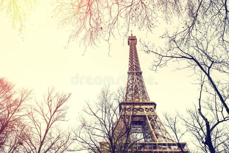 Torre Eiffel a Parigi, Francia immagine stock libera da diritti