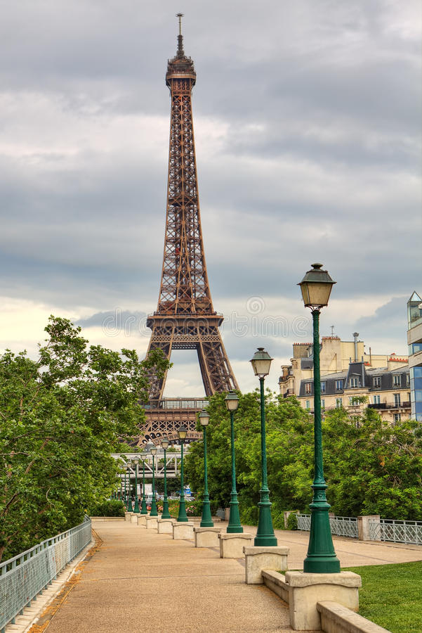 Torre Eiffel. Parigi, Francia. immagini stock libere da diritti