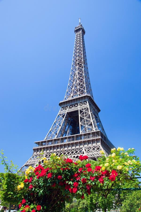 Torre Eiffel, Parigi, Francia immagine stock libera da diritti