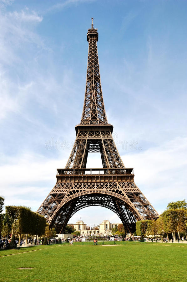 A torre Eiffel, Paris imagem de stock royalty free