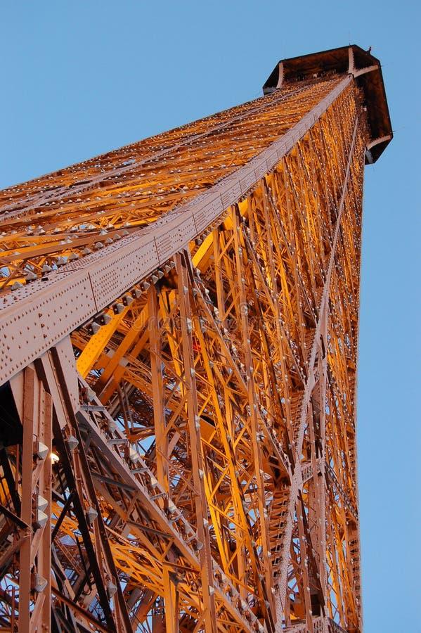 A torre Eiffel, Paris França imagem de stock