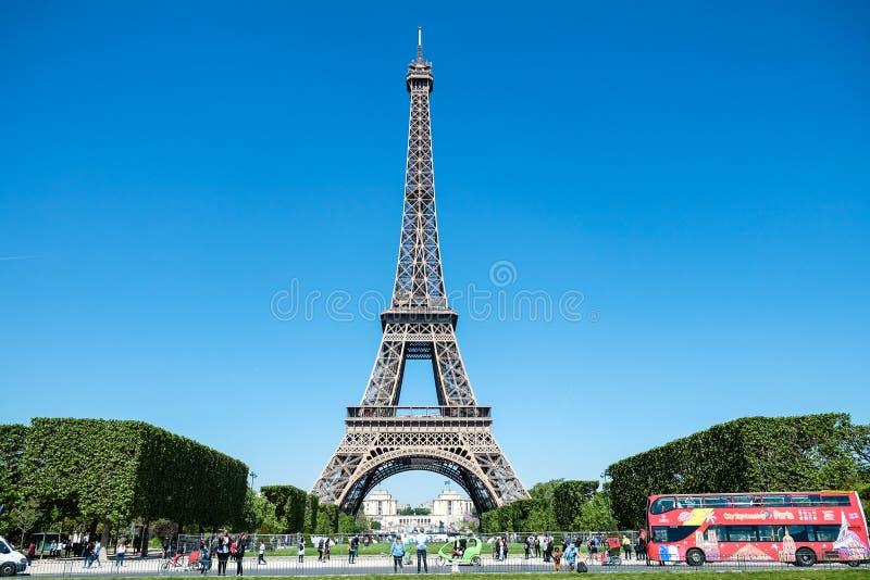 Torre Eiffel, Paris, France fotos de stock royalty free