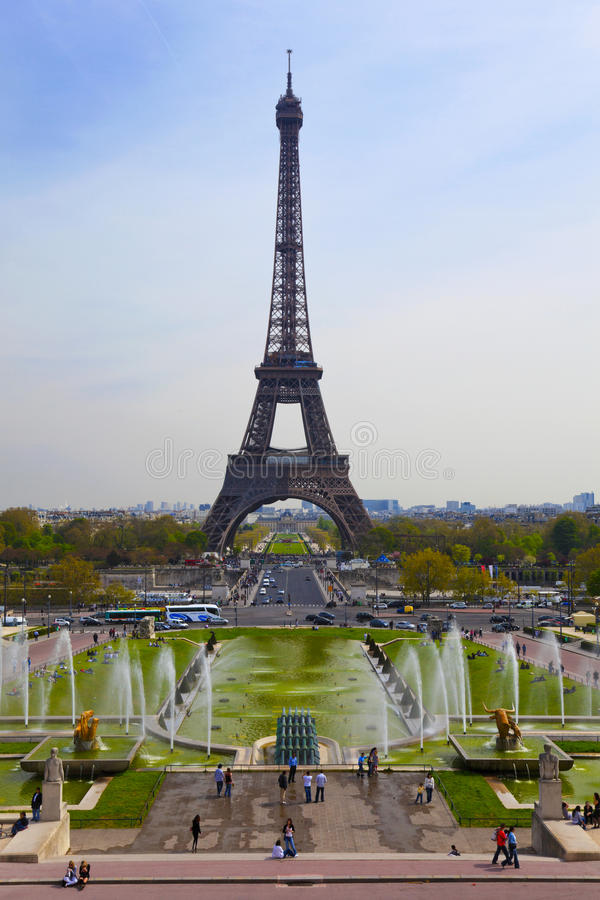 A torre Eiffel, Paris, France foto de stock royalty free
