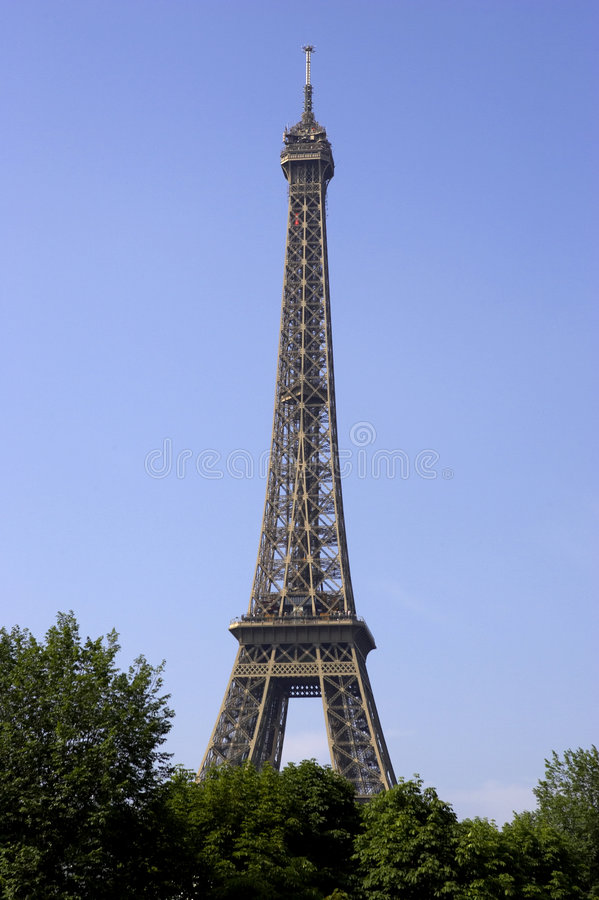 Torre Eiffel Paris france imagem de stock royalty free