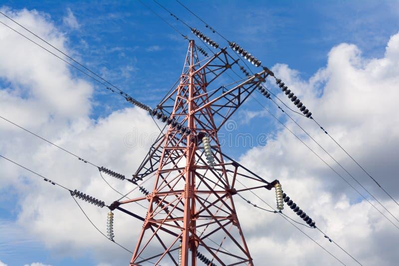 Torre eléctrica foto de archivo libre de regalías