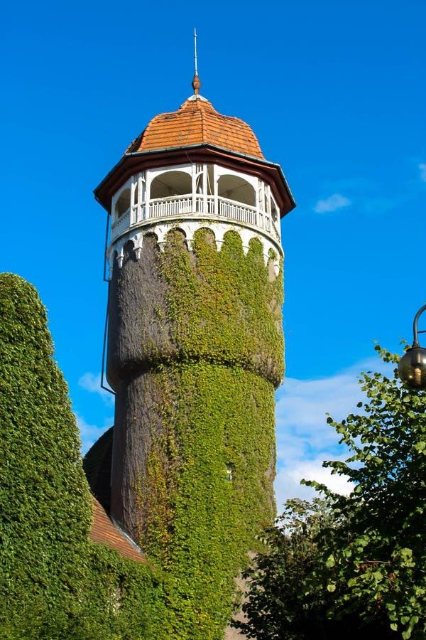 Torre em Svetlogorsk imagem de stock