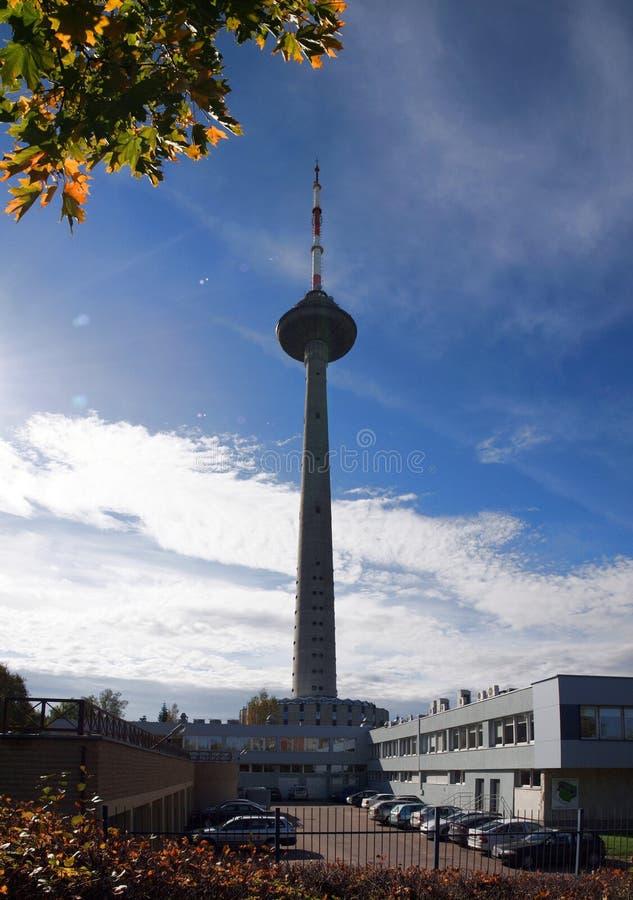 A torre em Vilnius fotografia de stock royalty free