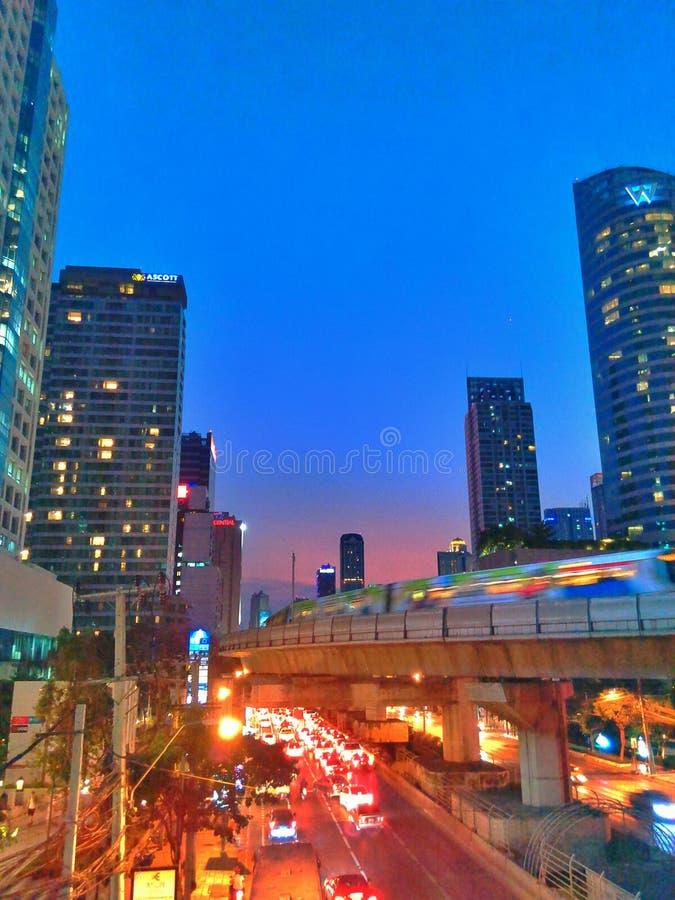 Torre en Bangkok imagenes de archivo