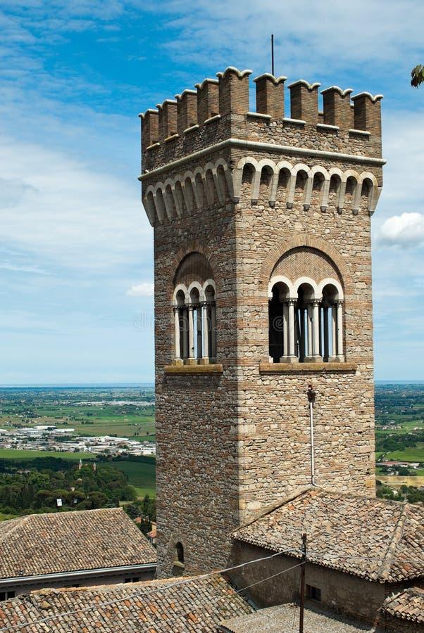 Torre en Bertinoro, Italia. foto de archivo libre de regalías