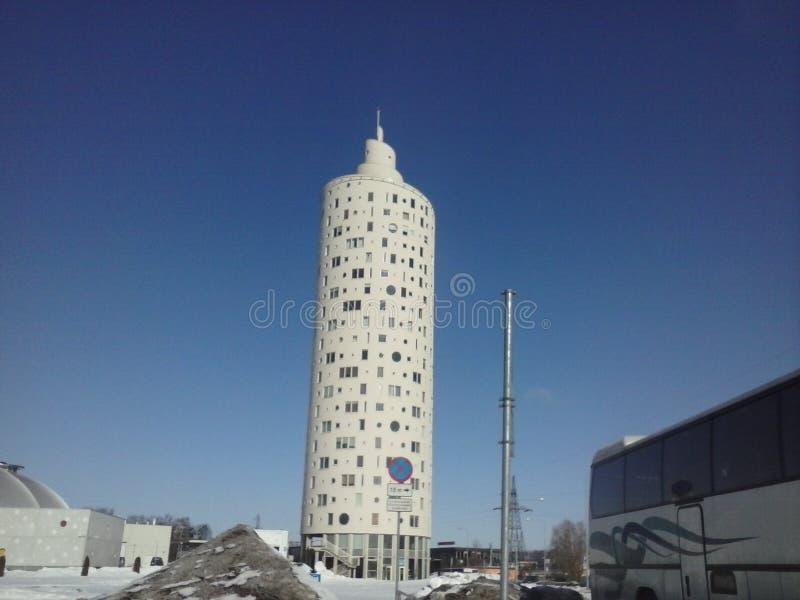 Torre en Estonia foto de archivo