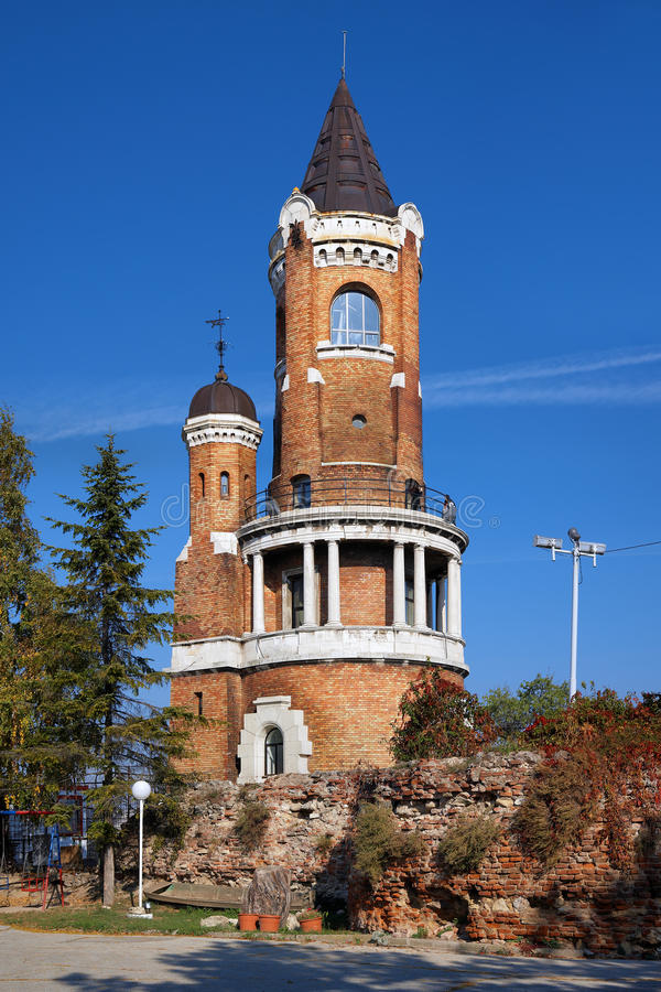 Torre en Zemun, Belgrado, Serbia de Gardos imagen de archivo libre de regalías