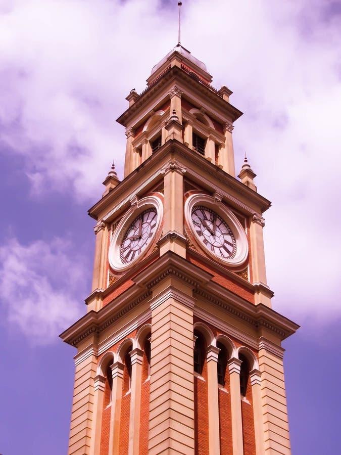 Torre Estação da Luz imagem de stock