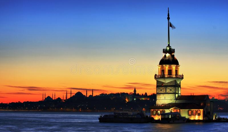 Torre-Estambul foto de archivo libre de regalías