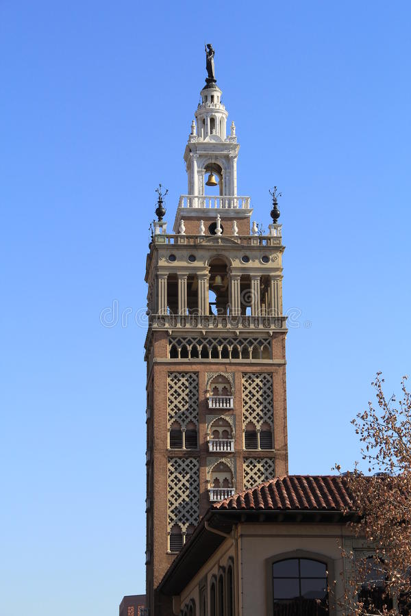 Torre europea classica fotografia stock