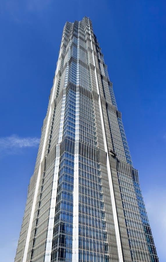 Torre famosa de Jinmao en Pudong, Shangai, China fotos de archivo