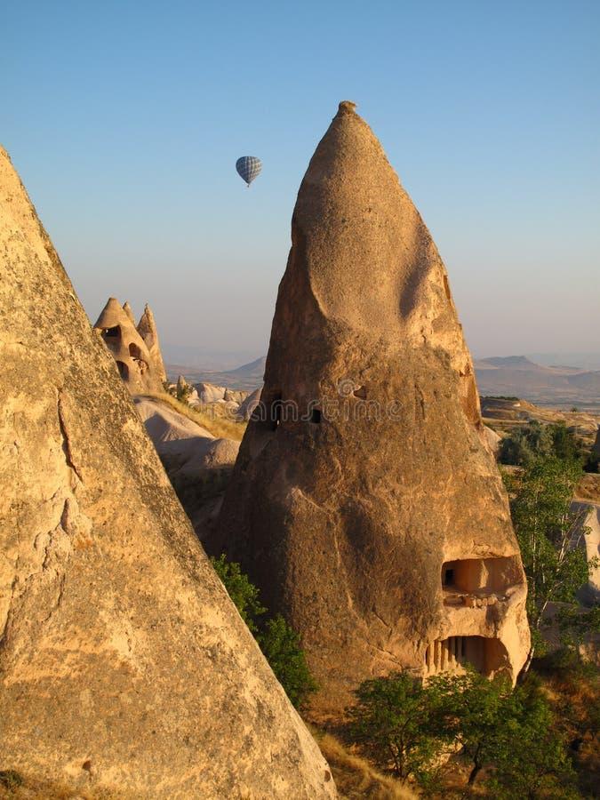 Torre feericamente em Cappadocia imagens de stock