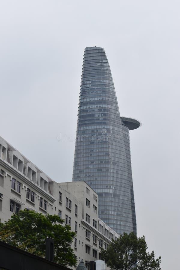 Torre financiera de Bitexco en Ho Chi Minh City Saigon en Vietnam, Asia foto de archivo