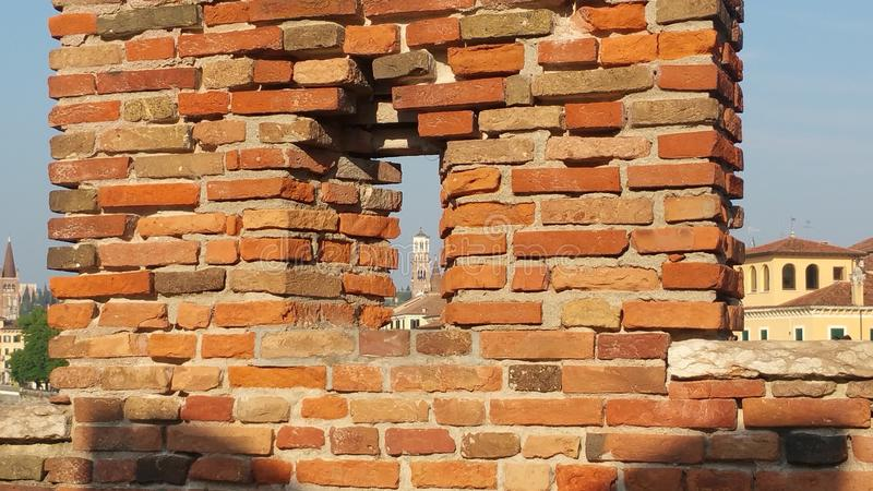 Torre in finestra immagine stock