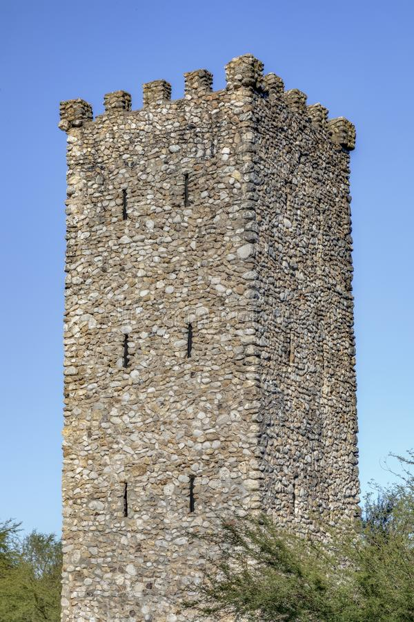 Torre fuerte - parque del puesto de observación del Comanche - San Antonio imagenes de archivo