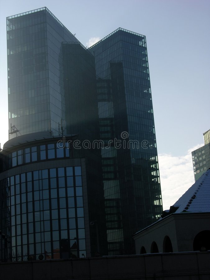 Torre gémea de Viena fotos de stock royalty free