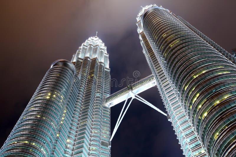 Torre gêmea em KLCC foto de stock royalty free