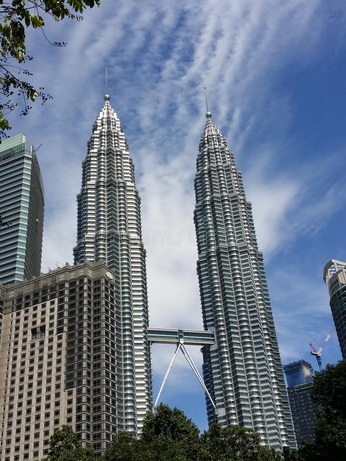 Torre gemela de Petronas fotografía de archivo libre de regalías