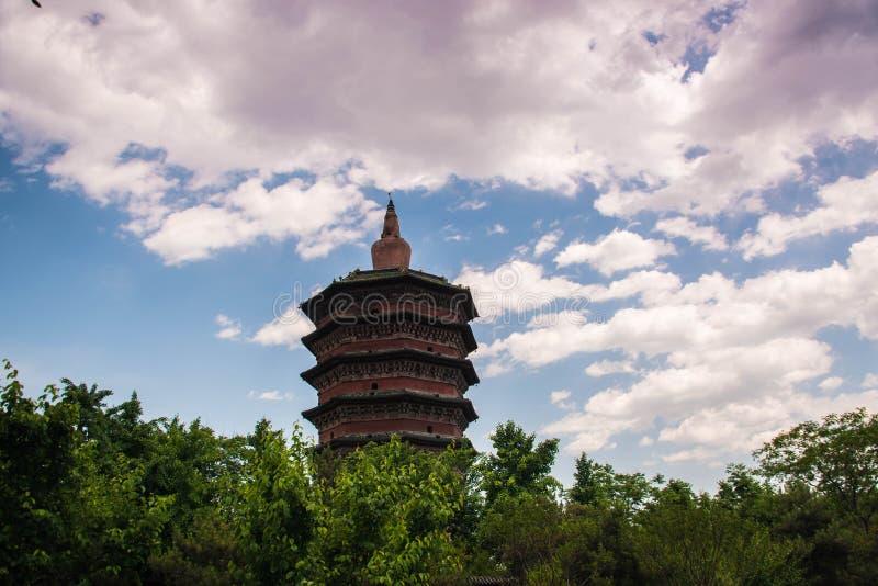 Torre hermosa del wenfeng imagenes de archivo