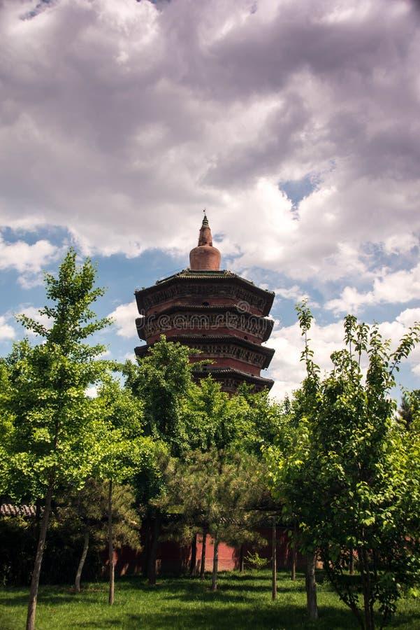 Torre hermosa del wenfeng imagen de archivo libre de regalías