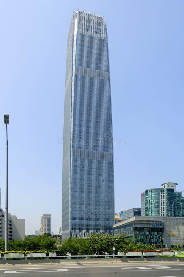 Torre III do World Trade Center de China imagem de stock royalty free