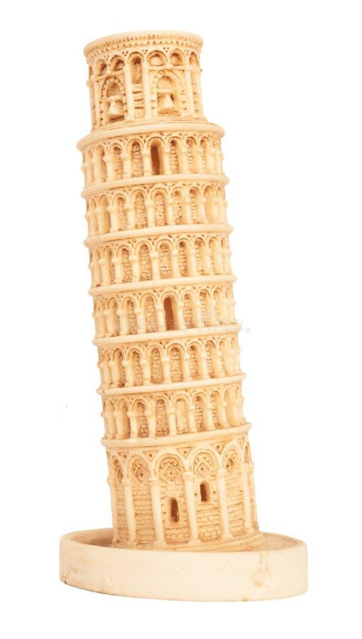 Torre inclinada de Pisa foto de archivo libre de regalías