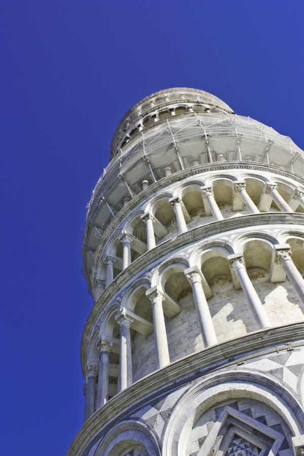 Torre inclinada de Pisa foto de stock