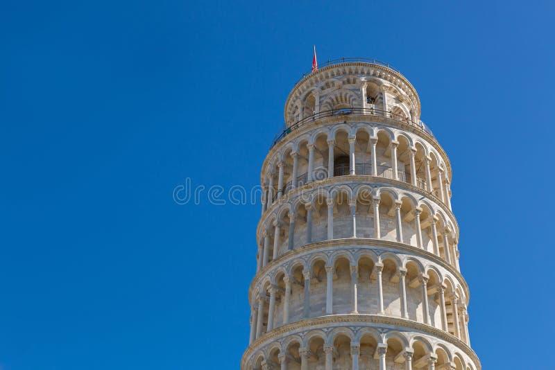 Torre inclinada de Pisa (di Pisa) do pendente de Torre, bel autônomo imagens de stock royalty free