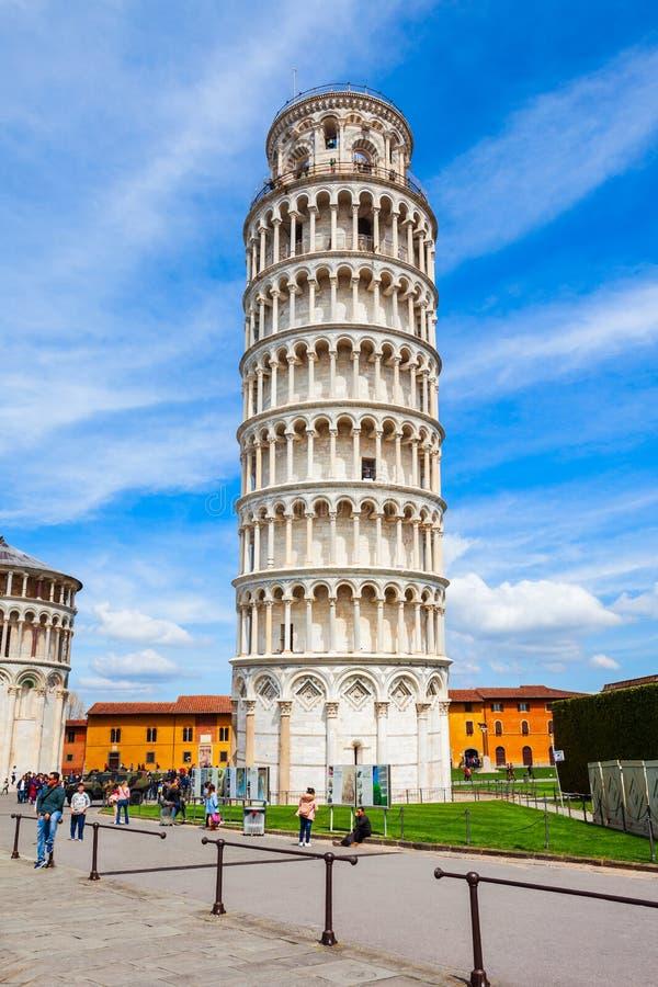 Torre inclinada de Pisa em It?lia imagem de stock royalty free