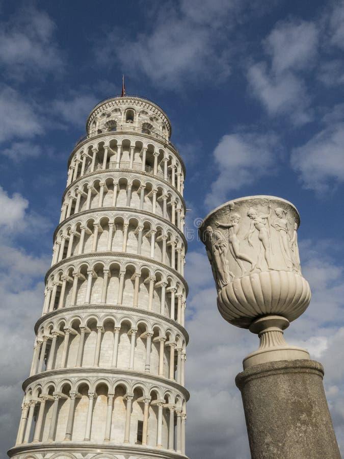 Torre inclinada de Pisa em Toscânia, Itália imagem de stock royalty free
