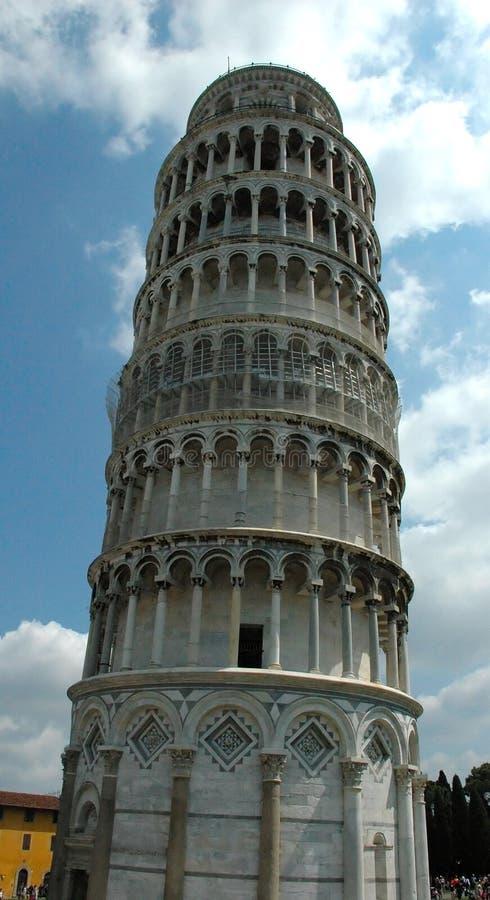 Torre inclinada - PISA fotos de archivo