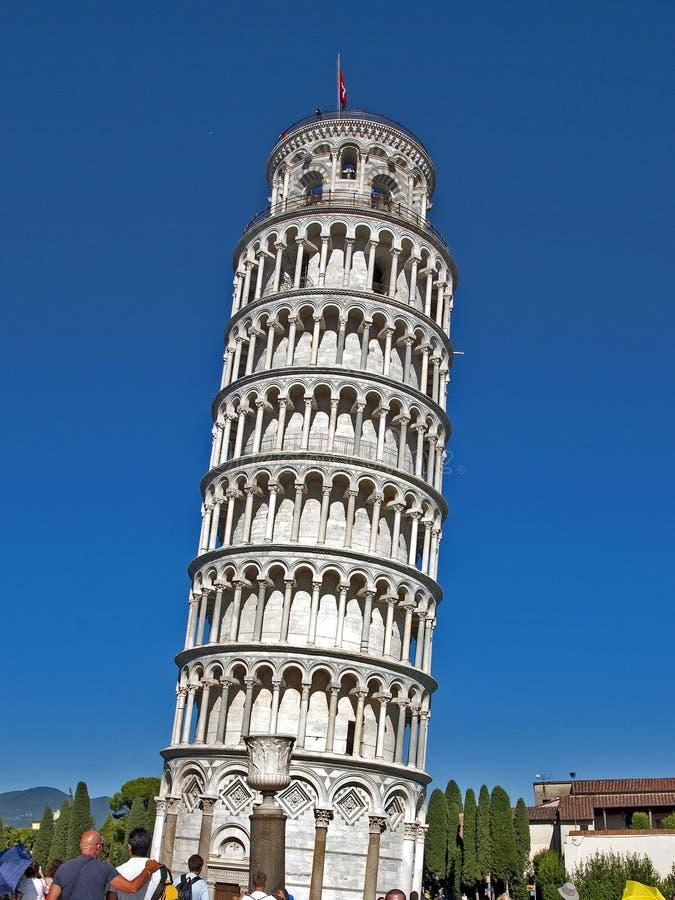 Torre inclinada Pisa Itália fotos de stock royalty free