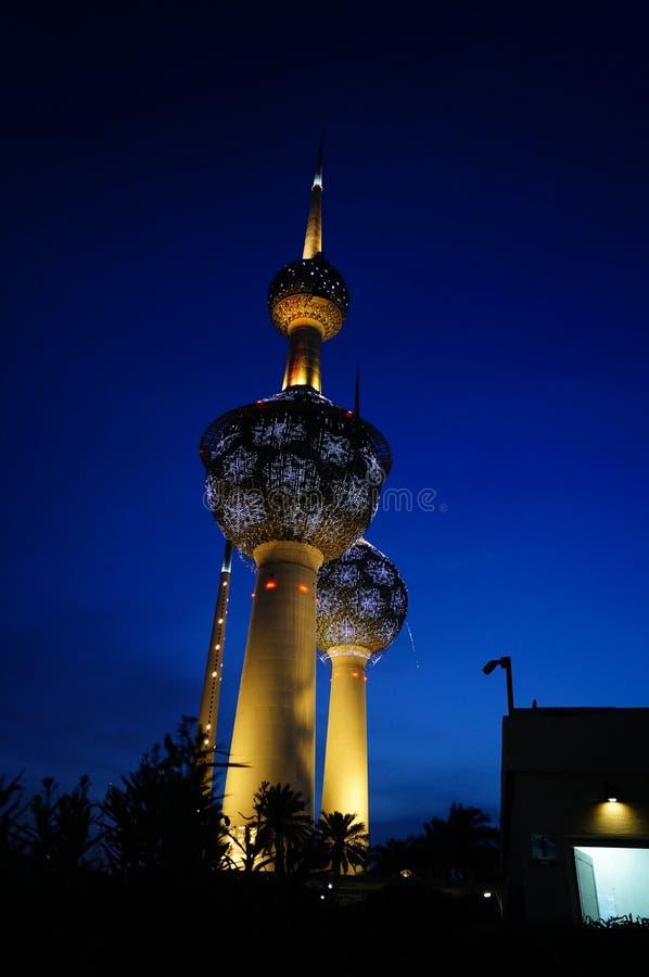 Torre Kuwait di Madinat al-Kuwait fotografia stock