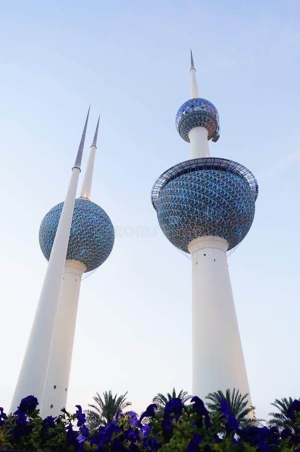 Torre Kuwait di Madinat al-Kuwait immagine stock