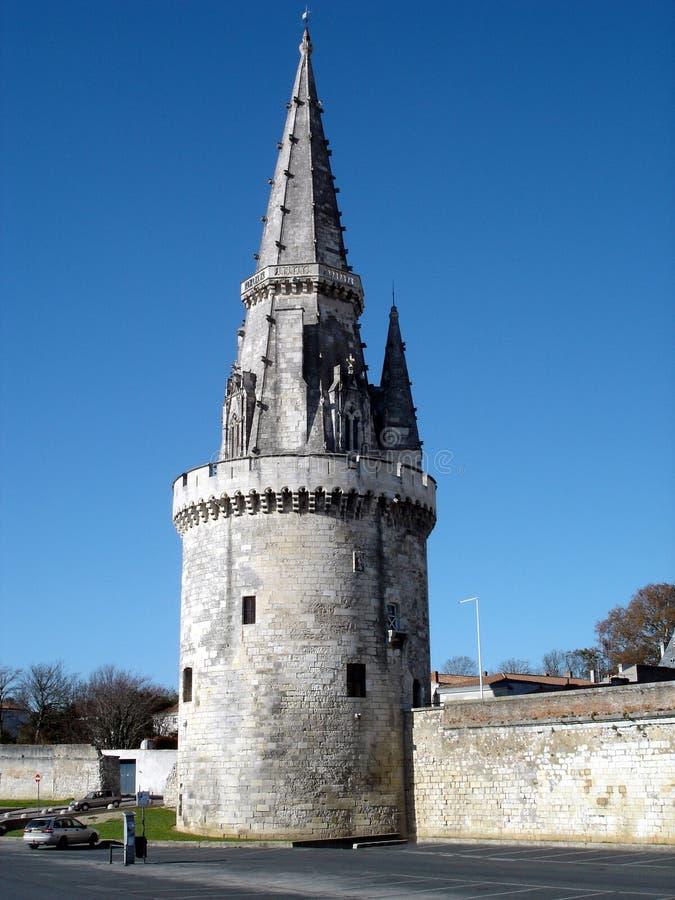 Torre La Rochelle/France da lanterna imagens de stock royalty free