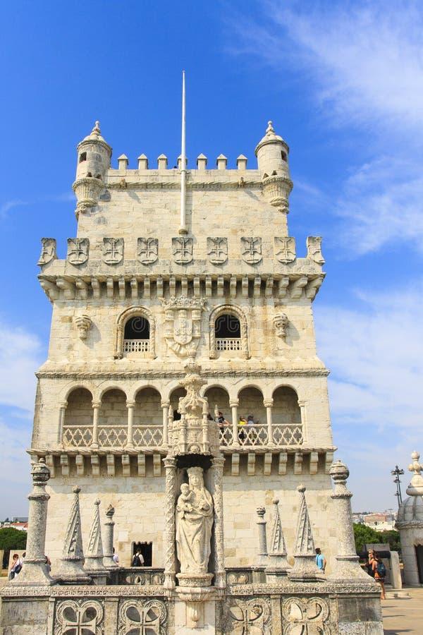 Torre Lisboa de Belém imagem de stock