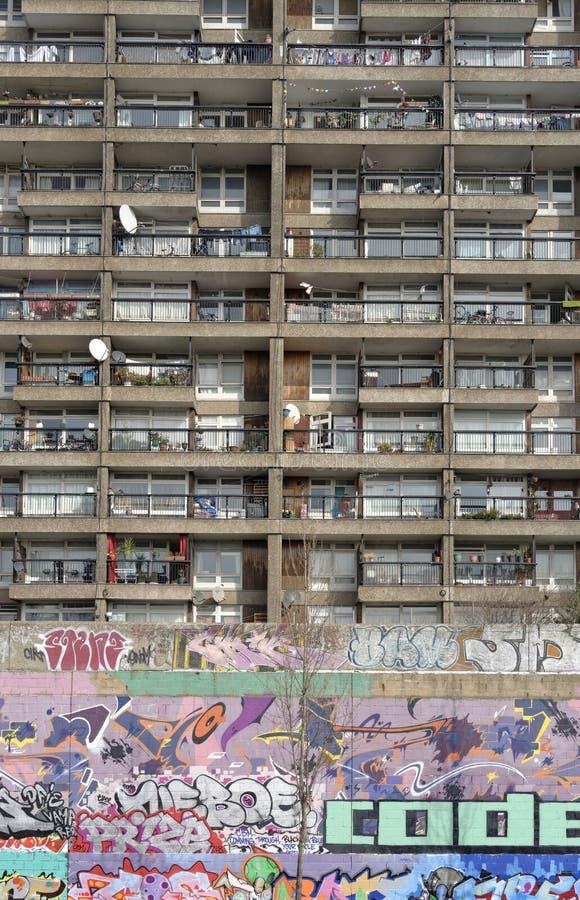 Torre Londres de Trellick imagens de stock