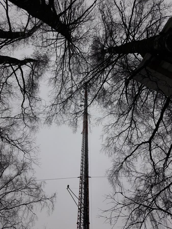 Torre Losevo da tevê imagem de stock