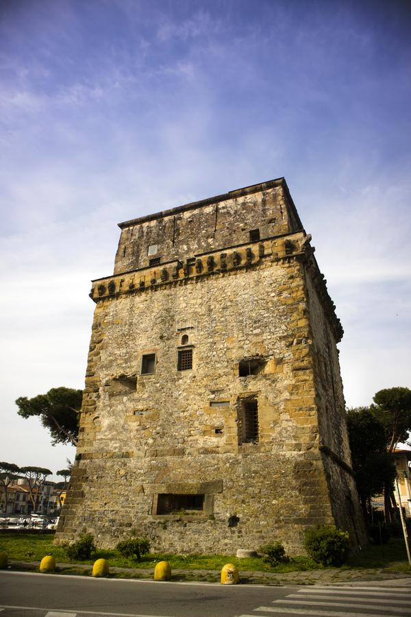 Torre Matilde Viareggio στοκ εικόνες με δικαίωμα ελεύθερης χρήσης